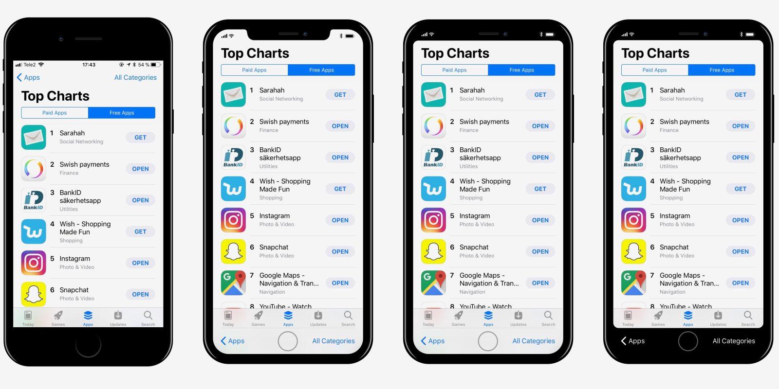 Как новый iPhone изменит статусную панель в iOS 11