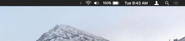 Как скрыть меню с иконками на компьютере Mac