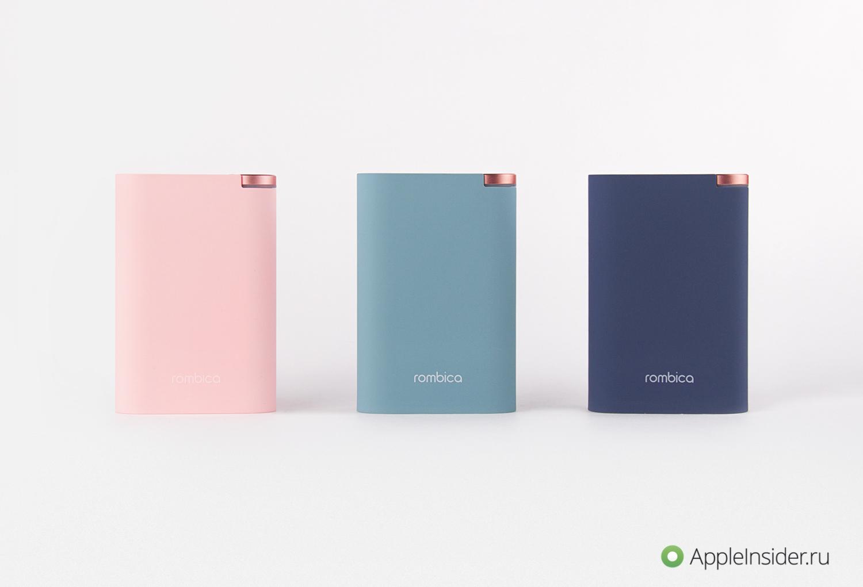 Rombica NEO ALFA: действительно стильные внешние аккумуляторы
