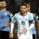 Матч ЧМ-2018 между сборными Аргентины и Уругвая завершился ничьей