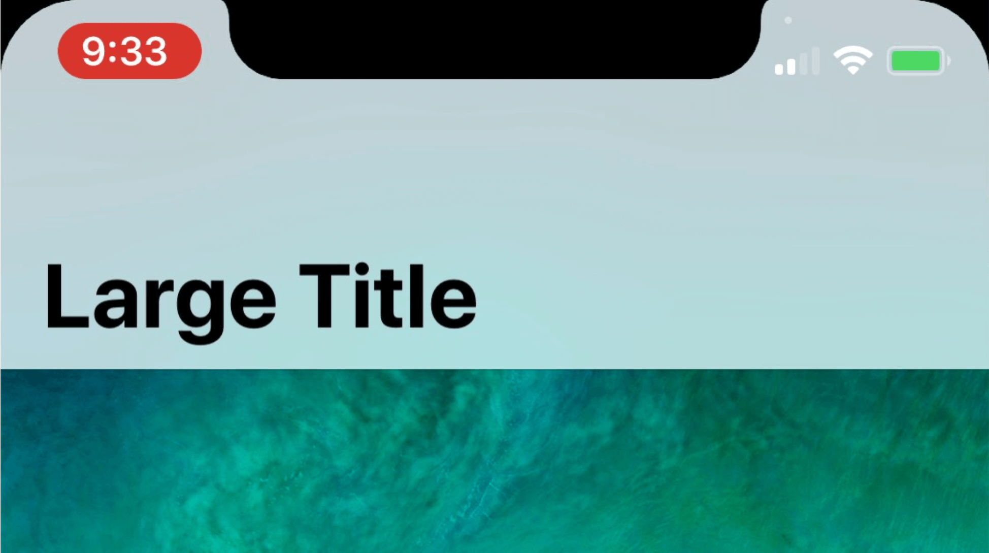 Разработчик выяснил, как изменится статус-бар в iPhone 8