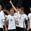 Англия и Германия добились участия в чемпионате мира по футболу в России