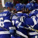 «Тампа» обыграла «Детройт» в НХЛ благодаря передаче и шайбе Кучерова