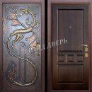 Надежная металлическая входная дверь