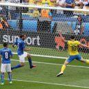 Швеция неожиданно победила Италию в первом стыковом матче ЧМ-2018