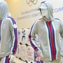 Экипировщик представил форму олимпийской сборной России