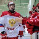 Молодежная сборная России по хоккею обыграла Белоруссию